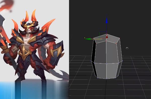 3Dmax角色建模